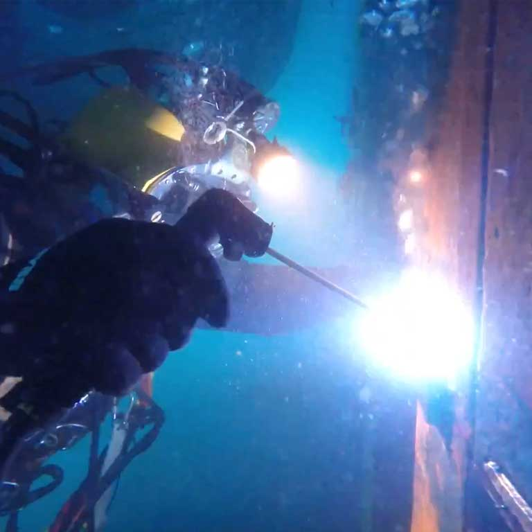 Commercial Diving and Underwater Welding